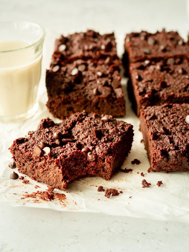 brownie en parts