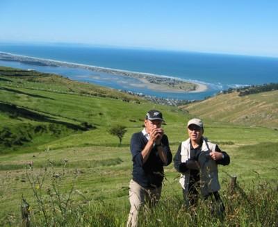 View over Avon Estuary on Christchurch City Tour
