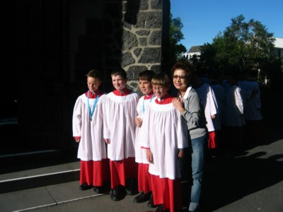 Christchurch Choir boys