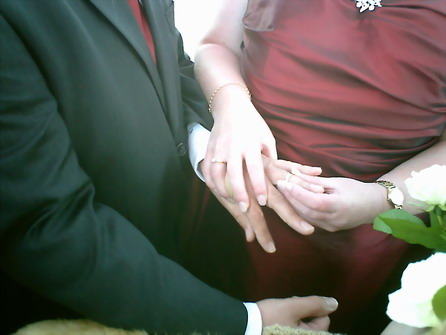 Matthew Being Given His Ring by The Bride