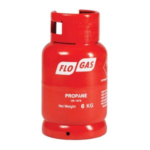 6kg Propane Flogas gas cylinders