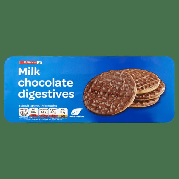 Cannich Stores : Milk Chocolate Digestives
