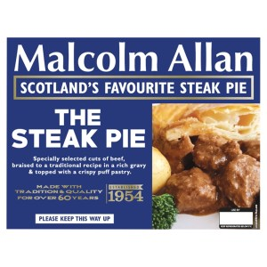 Cannich Stores: Malcolm Allan Steak Pie