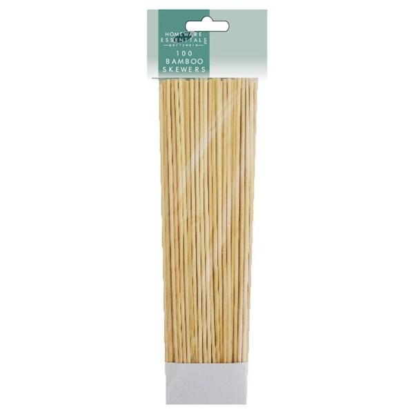 Bamboo Skewers 100 Pack