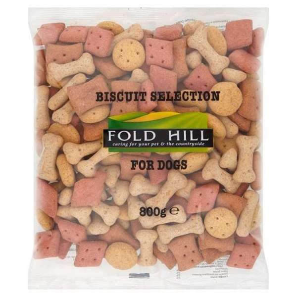 Dog Treats 800g - Mixed dog biscuits