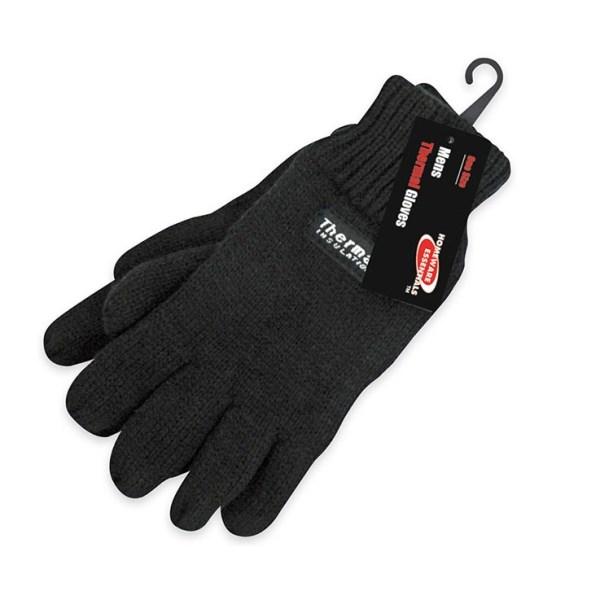 Homeware Essentials Mens Thermal Gloves