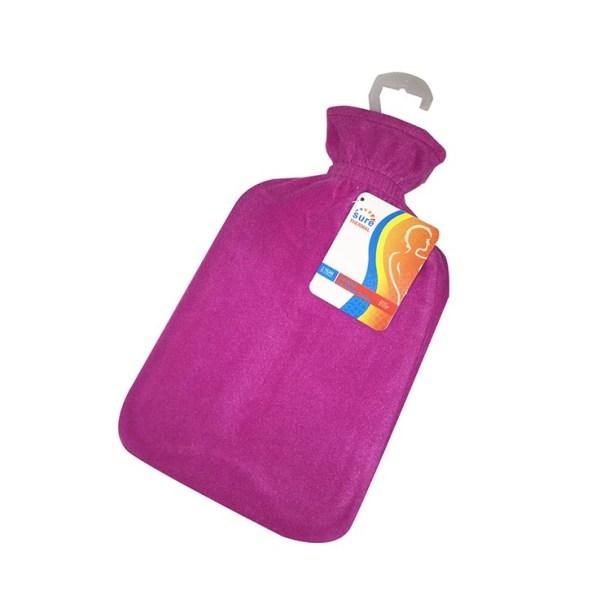 Hot water bottle - fleece covered