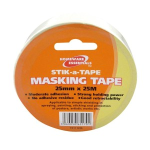 Masking Tape 25mm x 25m