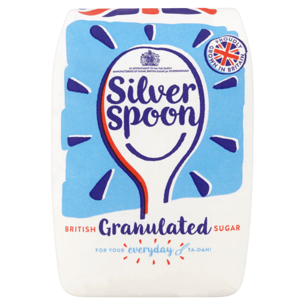 Silver Spoon British Granulated Sugar 500g