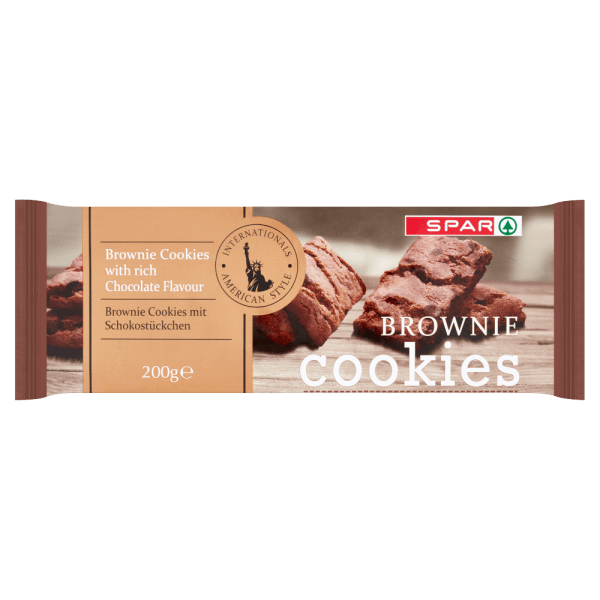 Spar American Style Brownie Cookies with Rich Chocolate Flavour