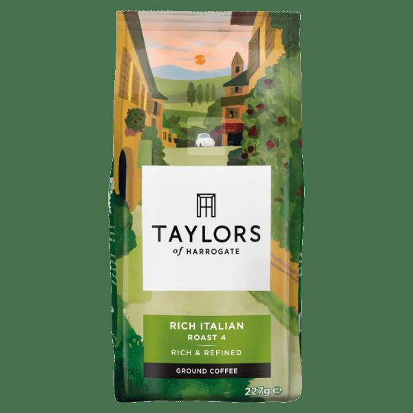 Taylors of Harrogate Rich Italian Ground Coffee 227g