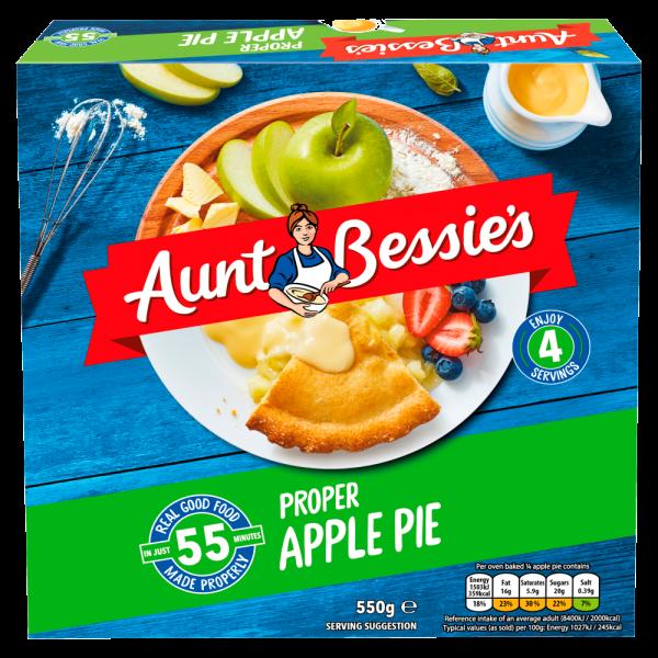 Cannich Stores : Aunt Bessie's Proper Apple Pie 550g