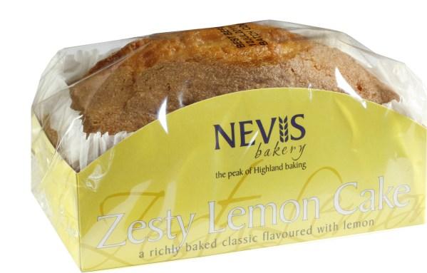 Cannich Stores : Nevis Zesty Lemon Cake