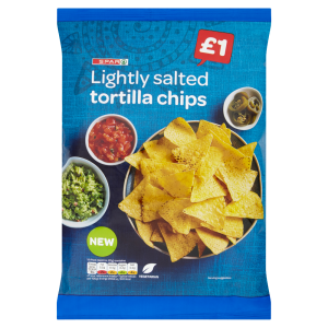 Spar Lightly Salted Tortilla Chips 180g