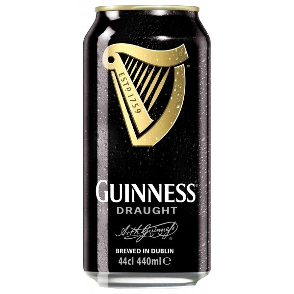 Guinness Draught Stout Beer 440ml