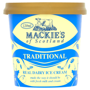 Mackies of Scotland Traditional Real Dairy Ice Cream 120ml