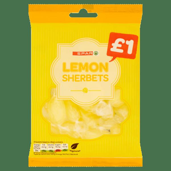 Spar Lemon Sherbets 170g