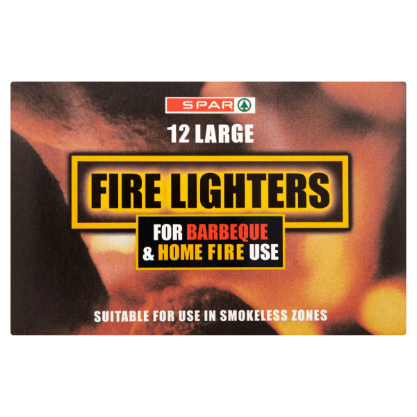 Spar 12 Large Fire Lighters