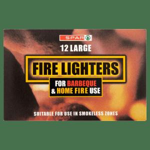 Spar 12 Large Fire Lighters