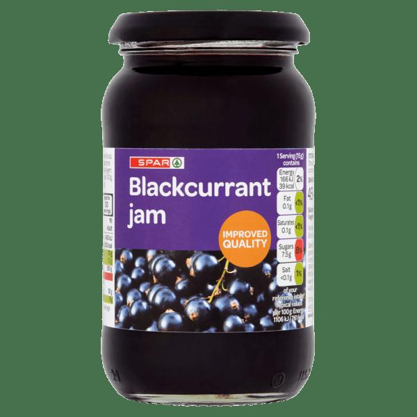 Spar Blackcurrant Jam 454g