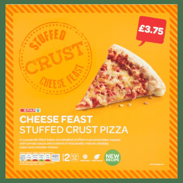 Spar Cheese Feast Stuffed Crust Pizza 440g