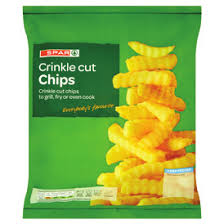 Spar Crinkle Cut Chips