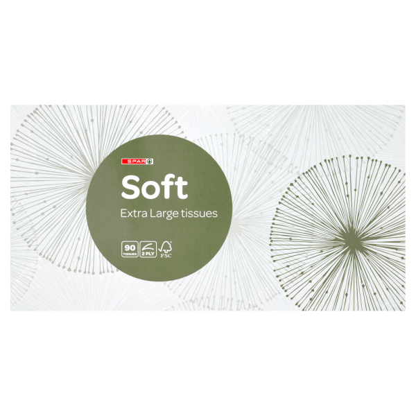 Spar Soft Extra Large Tissues 90 Tissues