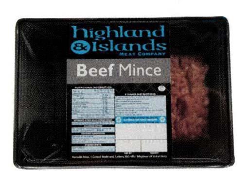 Highlands & Island Beef Mince