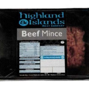 Highlands & Island Beef Mince
