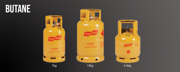 Flogas Butane cylinders