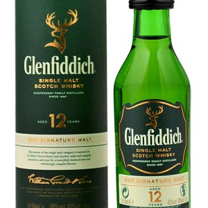 Glenfiddich - 12 Year Old Speyside Single Malt - 5cl