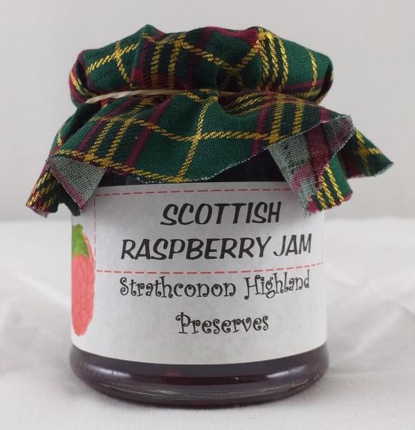 Strathconon Highland Preserves : Scottish Raspberry Jam