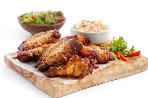 BBQ Chicken Wings 6 Pack