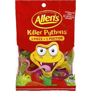 Allens Killer Pythons
