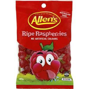Allens Ripe Raspberries