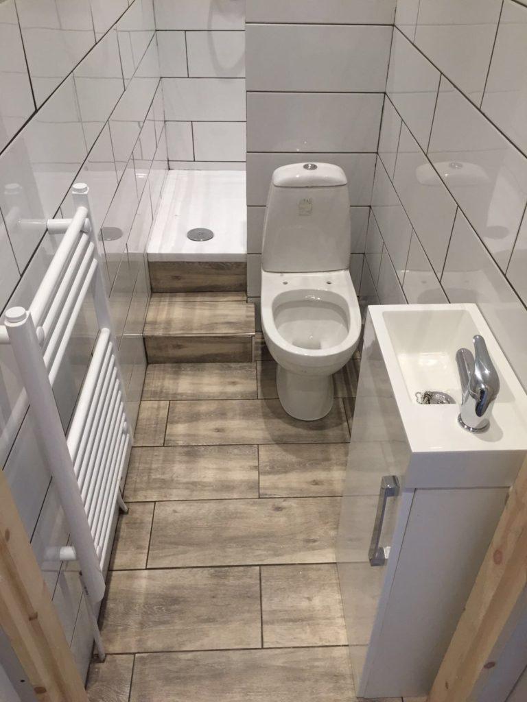 Cannock Bathrooms Small Ensuite Installation Cannock Bathrooms
