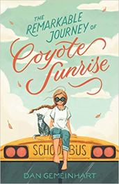 book cover for the Remarkable Journey of Coyote Sunrise
