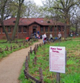 The North Park Village Nature Center sits on 46 acres of woodlands, savanahs, wetlands and trails.