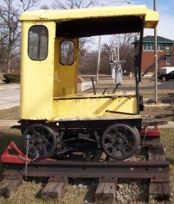 rail repair car