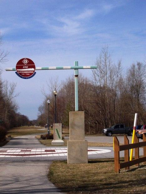 Railway Crossing Sign