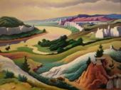 art, painting by Thomas Hart Benton