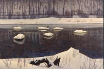 Sable River by Rockwell Kent