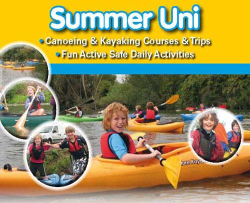 Surrey Canoe Club Summer Fun poster