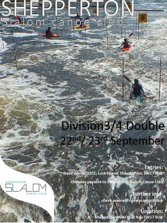 Shepperton Slalom Poster September 2012