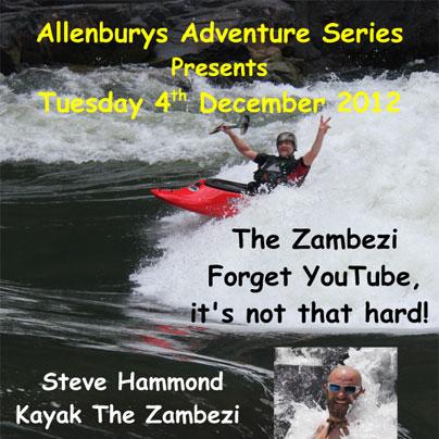 Allenbury's Zambezi talk December 2012