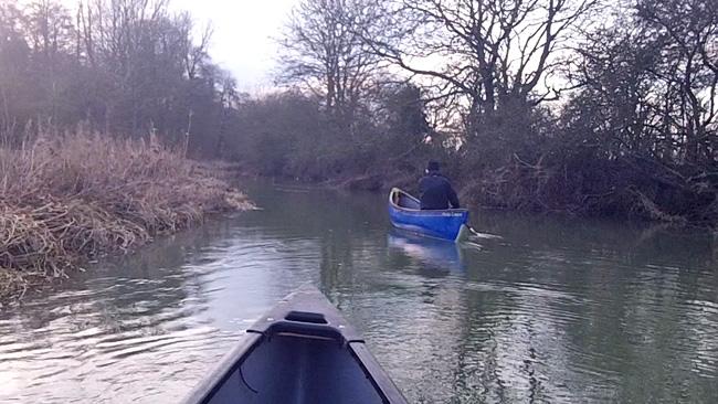 Canoe on the Swift Ditch, Abingdon