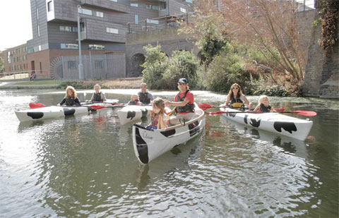 Moo Canoes - canoe hire and guided tours in London