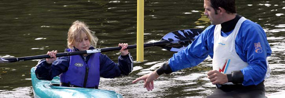 Canoe Slalom coaching with GB Canoeing