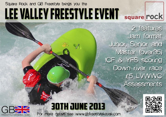 Lee Valley Freestyle Kayak event 2013