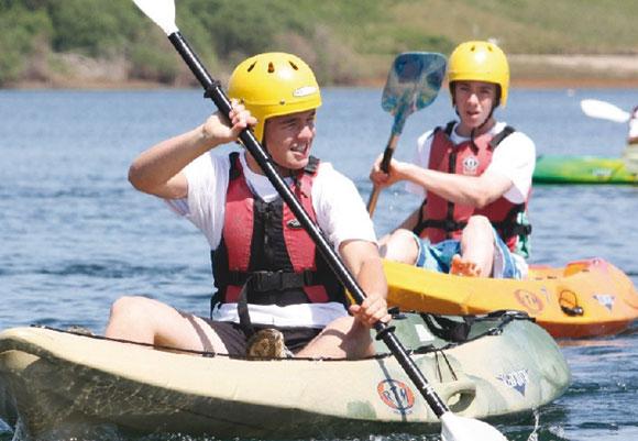 Harlow Level 2 (L2) kayak canoe coach training course